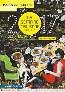 Semaine italienne 2017 à Paris 13e