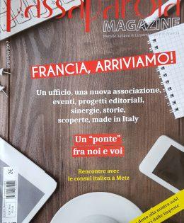 Passaparola nouvelle revue italienne