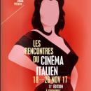 11es rencontres du cinéma italien 2017 de Grenoble
