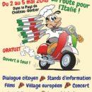 Fête de l' Europe à Château-Gonthier : l 'Italie
