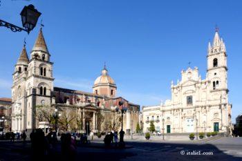 Acireale en Sicile
