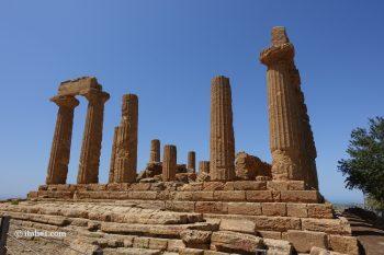 temple d'Héra Agrigente vallée des temples