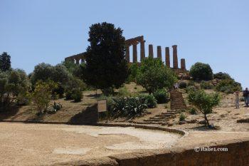 temple d'Héra d'Agrigente vallée des temples