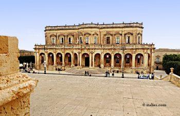 Palazzo Ducezio à Noto en Sicile