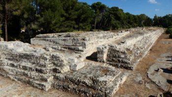 autel d'Hiéron II à Neapolis à Syracuse en Sicile