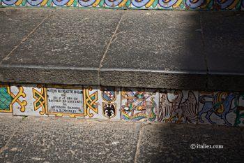 escalier de Santa Maria del Monte à Caltagirone