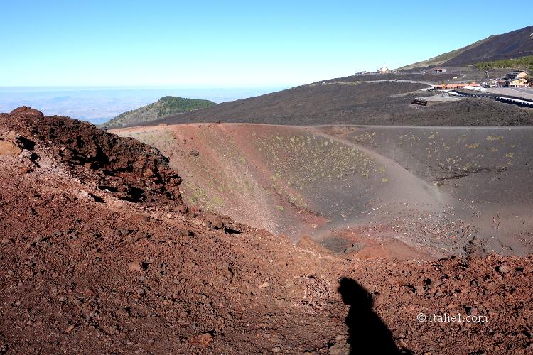 comment se déroule la visite de l'Etna