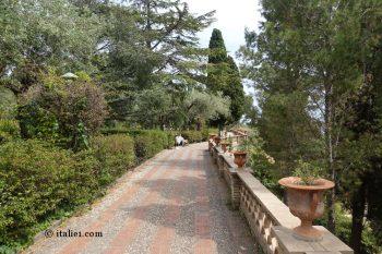jardins de la Villa communale de Taormina