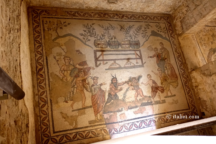 Fresques Villa del Casale