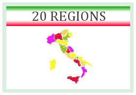 Tourisme en Italie dans les régions italiennes