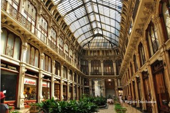 Galerie marchande Subalpina à Turin