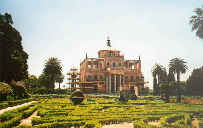 Palais chinois dans la Parc de la Favorite à Palerme