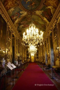 Visite du Palazzo Reale de Turin