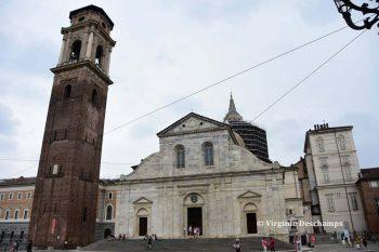 Duomo de Turin qui conserve le Saint Suaire
