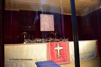 Saint Suaire de Turin conservé dans le duomo