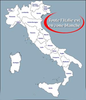 mesures sanitaires en Italie